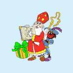 afbeelding Sinterklaas en Zwarte Piet