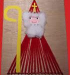 Sinterklaas van draadjes