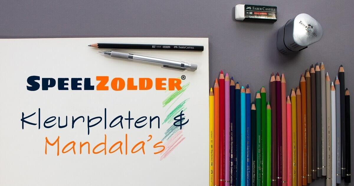 Mandala Sterrenbeelden Kleurplaten.Kleurplaten En Mandala S Kleuren En Tekenen Speelzolder Com